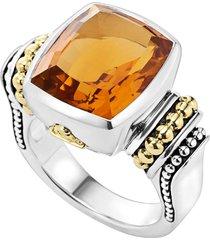 women's lagos 'caviar color' medium semiprecious stone ring