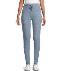 vintage havana women's new hacci fleece jogging pants - pink - size m