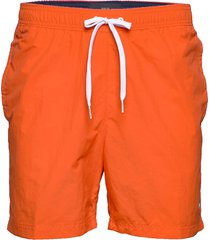 sf medium drawstring badshorts orange tommy hilfiger