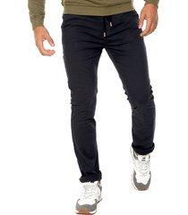 pantalón azul oscuro americanino