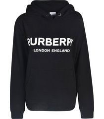 burberry oversized logo hoodie