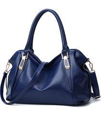 soft tracolla di design elegante in pelle borsa per le donne