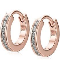 women's monica vinader fiji skinny diamond huggie hoop earrings
