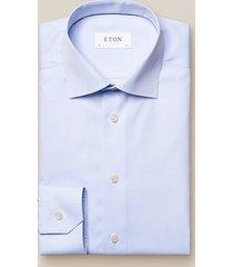 eton heren overhemd licht poplin cutaway slim fit