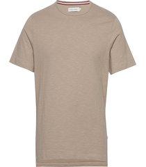 tshirt t-shirts short-sleeved beige casual friday