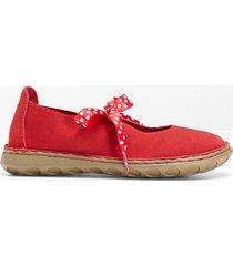 ballerina in pelle (rosso) - bpc selection