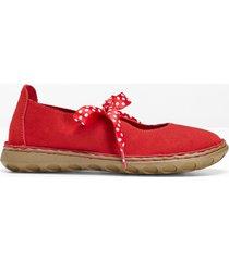 ballerine comode in pelle (rosso) - bpc selection