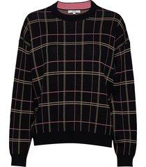 kayla sweat-shirt trui zwart dagmar