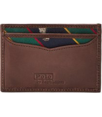 polo ralph lauren men's polo bear tie-stripe card case