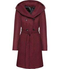 cappotto corto in misto lana (rosso) - john baner jeanswear