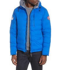 men's canada goose pbi lodge slim fit packable 750 fill power down hooded jacket