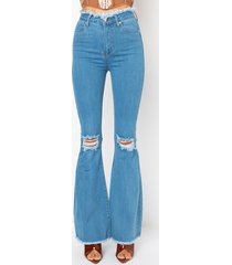akira all i wanna do high rise flare jeans