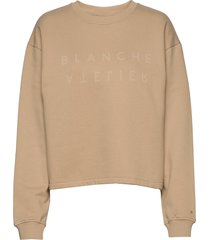alba sweater sweat-shirt tröja beige blanche