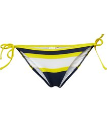 cheeky string side tie bikini bikinitrosa multi/mönstrad tommy hilfiger