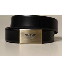 emporio armani belt reversible emporio armani belt in two-tone smooth calfskin