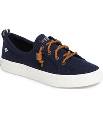 women's sperry crest vibe slip-on sneaker, size 6 m - blue
