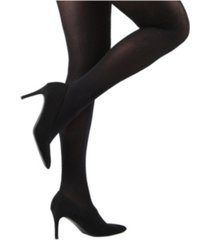 stella noir opaque women's tights