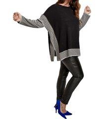 sweater gris mamy blue lesath