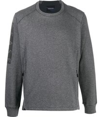 sease zip-pocket sweatshirt - grey