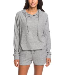 roxy way back when cropped hoodie