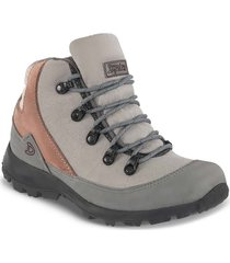 botas outdoor delila gris para mujer croydon