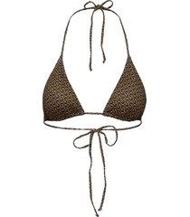 pilgz bikini top bikinitop brun gestuz