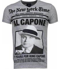 al capone - rhinestone t-shirt