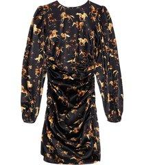 silk stretch satijnen jurk