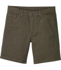 shorts lunghi elasticizzati slim fit (verde) - rainbow