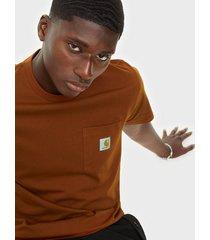 carhartt wip s/s pocket t-shirt t-shirts & linnen brand