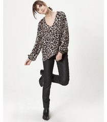 blusa animal print portsaid