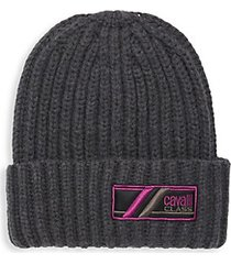 wool ribbed knit hat