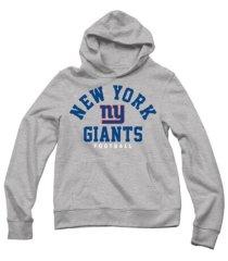 authentic apparel men's new york giants established hoodie