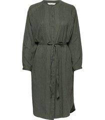 inga jurk knielengte groen gai+lisva