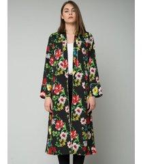 kimono w kwiaty