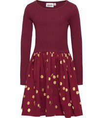 casie jurk rood molo