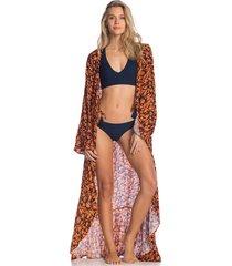 kimono naranja-azul maaji swimwear sunset moonbow