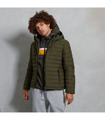 chaqueta padded para hombre hooded fuji jacket superdry