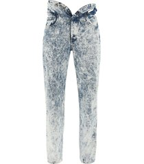 y/project knotted waist jeans