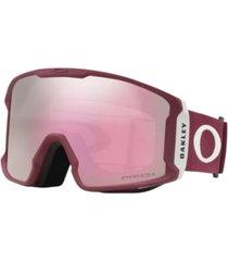 oakley men's line miner goggles sunglasses