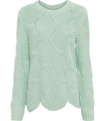 maglione traforato (verde) - rainbow