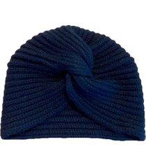 cashmere turban beanie