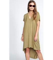 davey tail dress - xs army