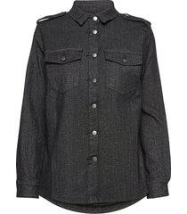 shirt overhemd met lange mouwen zwart sofie schnoor
