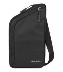 travelon slim crossbody bag