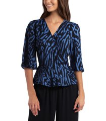 gigi parker women's wrap top