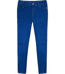 jean mujer skinny oscuro color azul, talla 10