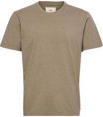 assembly tee t-shirts short-sleeved beige folk
