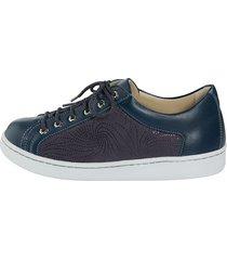 skor för tryckkänsliga fötter naturläufer blå