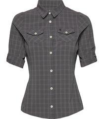 swanson w shirt overhemd met korte mouwen grijs 8848 altitude